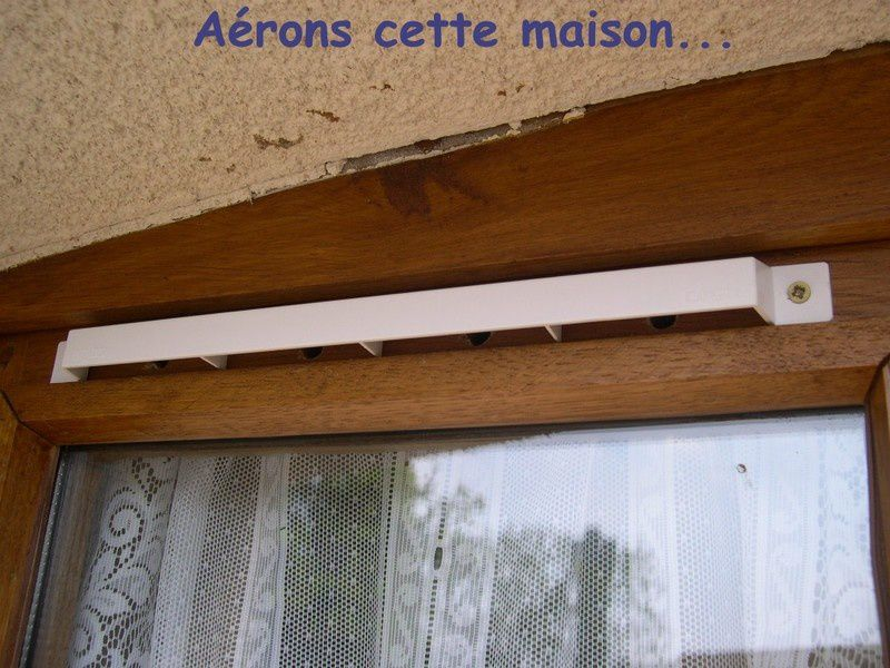 Comment installer aeration fenetre bois la r ponse est for Installation fenetre